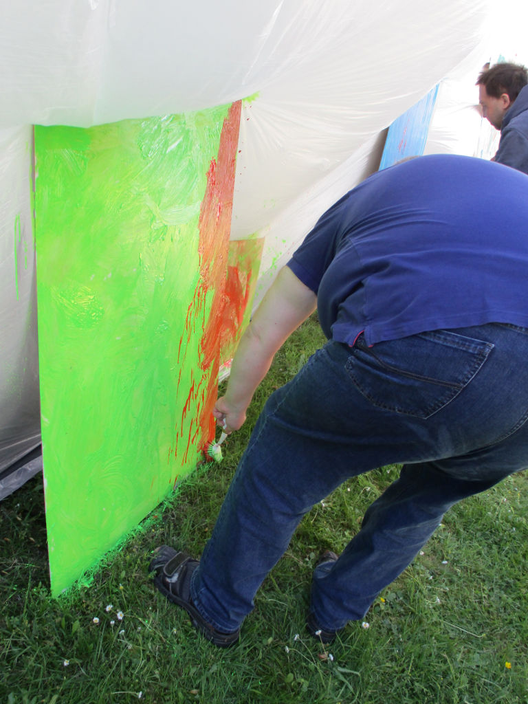Action Painting!